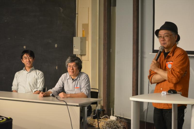 杉浦裕樹さん(写真右)  大和田健一(写真中央) 門田和雄さん(写真中央)
