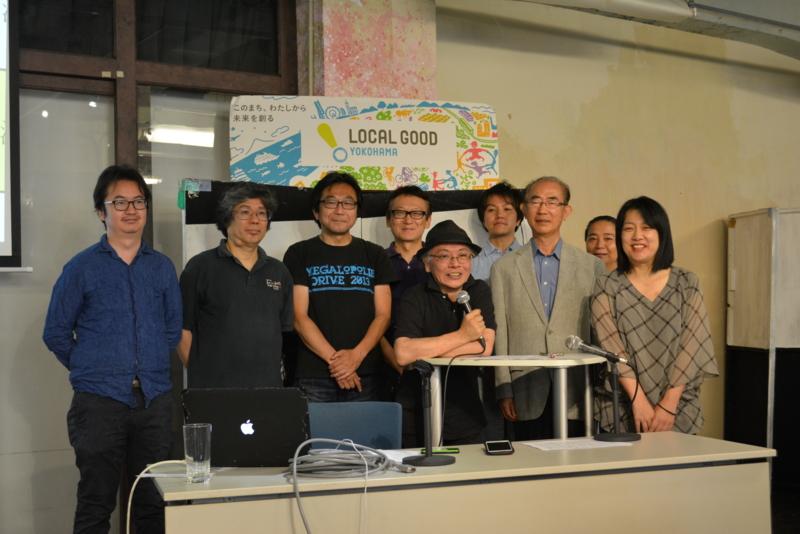 横浜コミュニティデザイン・ラボ理事による集合写真